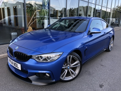 BMW 4 SERIES 2.0 420D M SPORT COUPE 14 14 £16975