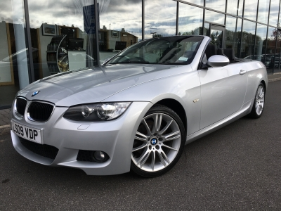 BMW 3 SERIES 2.0 320i M SPORT CONVERTIBLE 09 09 £7500