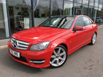 MERCEDES BENZ C CLASS 1.8 C180 BLUE EFFICIENCY SPORT 7G-TRONIC 12 12 £12975