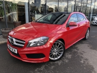 MERCEDES BENZ 2.1 A200 CDI AMG SPORT 7G-DCT 5 DR PANORAMIC ROOF 14 14 £15975